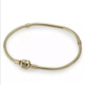 """Pandora solid 14k bracelet 7.9"""""""